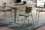 Ensemble tafel Spinner2 en stoelen Lago