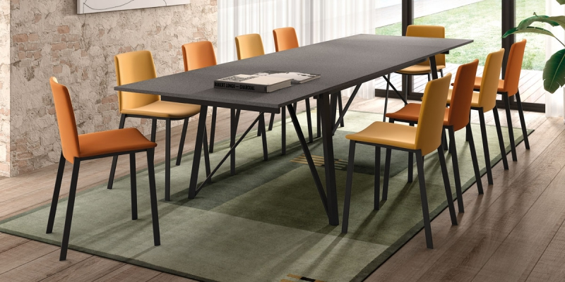 Ensemble table Wacko and chairs Primera