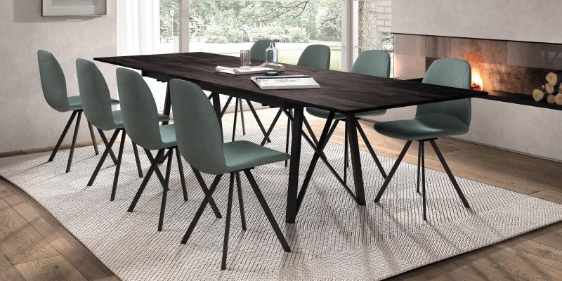Ensemble tafel Wacko2.0 en stoelen Girona