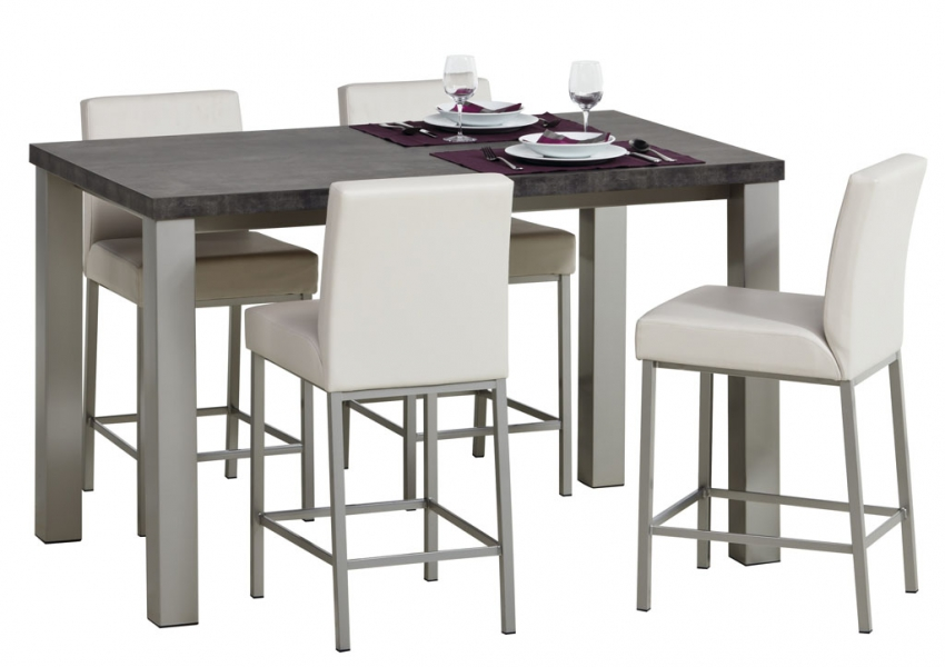 Quadra hpl perfecta - Table de cuisine 6 personnes ...